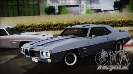 Pontiac Firebird Trans Am Coupe (2337) 1969 für GTA San Andreas