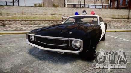 Shelby GT500 428CJ CobraJet 1969 Police für GTA 4