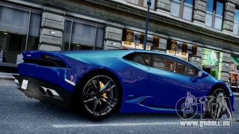 Lamborghini Huracan LP610-4 from Horizon 2 pour GTA 4 est un droit