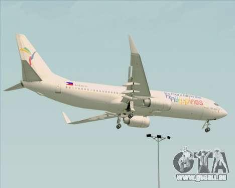 Boeing 737-800 South East Asian Airlines (SEAIR) für GTA San Andreas Rückansicht