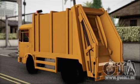 Roman Garbage für GTA San Andreas linke Ansicht