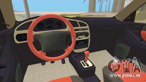Daewoo Lanos Sport NOUS 2001 pour GTA San Andreas moteur