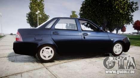 ВАЗ-2170 Lada Priora stock pour GTA 4 est une gauche