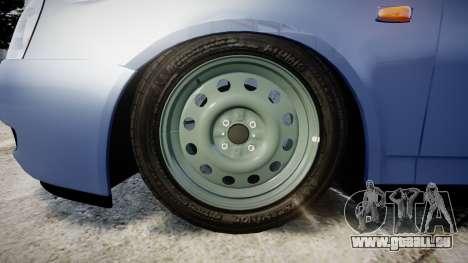 ВАЗ-2170 Installé Prieure de la Qualité v2.0 pour GTA 4 Vue arrière