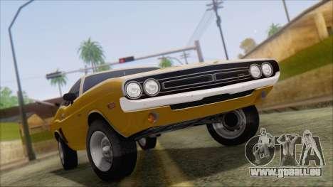 Dodge Challenger 1971 für GTA San Andreas