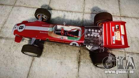 Lotus 49 1967 red pour GTA 4 est un droit