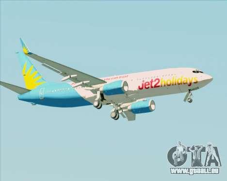 Boeing 737-800 Jet2Holidays pour GTA San Andreas vue de côté