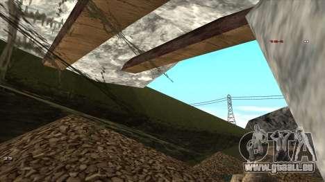 Трасса Offroad v1.1 par Rappar313 pour GTA San Andreas septième écran