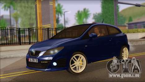 Seat Ibiza Cupra 2010 für GTA San Andreas