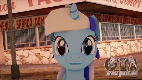 Colgate from My Little Pony pour GTA San Andreas troisième écran