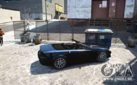 Benefactor Feltzer Grey Series v3 für GTA 4 linke Ansicht