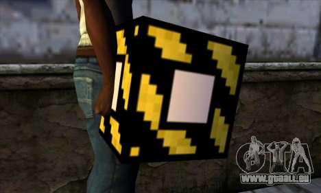 Bloc (Minecraft) v4 pour GTA San Andreas troisième écran