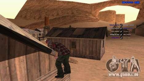 ped.ifp par Pavel_Grand pour GTA San Andreas sixième écran