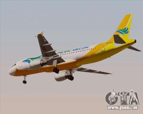 Airbus A320-200 Cebu Pacific Air für GTA San Andreas Seitenansicht