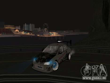 Mitsubishi Lancer Evo 9 VCDT für GTA San Andreas