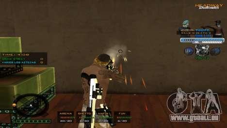 Super C-PALETTE pour GTA San Andreas troisième écran