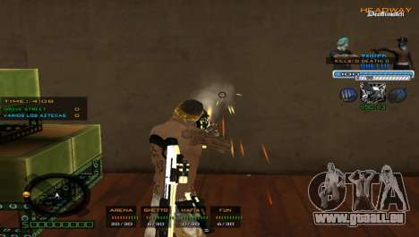 Hervorragende C-HUD für GTA San Andreas dritten Screenshot