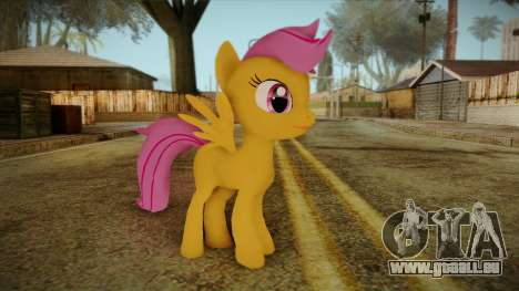 Scootaloo from My Little Pony pour GTA San Andreas