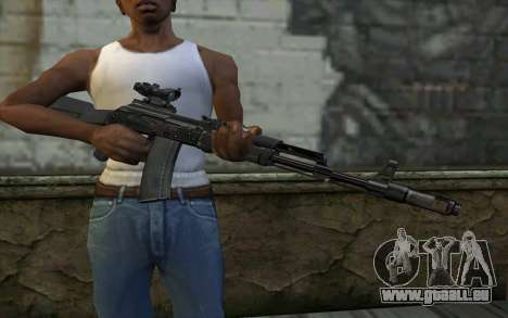 Glock-17 Silenced für GTA San Andreas dritten Screenshot