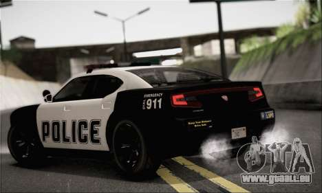 Bravado Buffalo S Police Edition (IVF) pour GTA San Andreas laissé vue