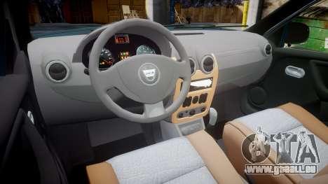 Dacia Duster 2013 pour GTA 4 Vue arrière