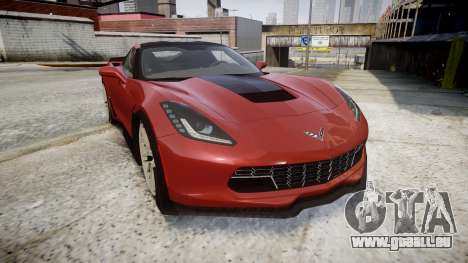 Chevrolet Corvette Z06 2015 TirePi2 für GTA 4