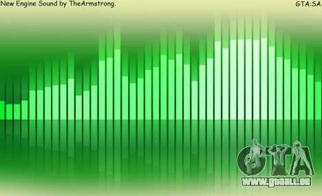 Neue sounds mieten für GTA San Andreas