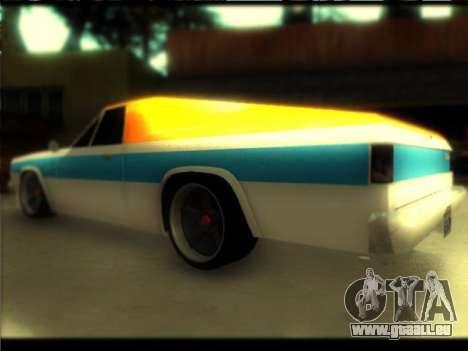 Nouveau Picador pour GTA San Andreas laissé vue