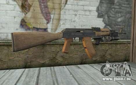 AK-74 Pour assurer notre pour GTA San Andreas deuxième écran