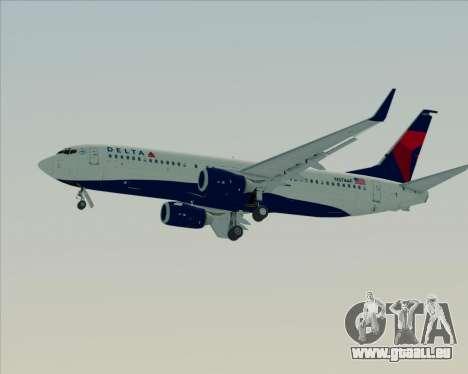 Boeing 737-800 Delta Airlines für GTA San Andreas Räder