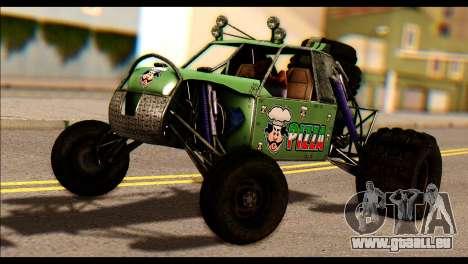 Buggy Fireball from Fireburst PJ pour GTA San Andreas