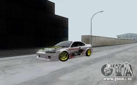 Nissan Silvia S15 VCDT pour GTA San Andreas laissé vue