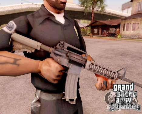 M4A1 BF4 pour GTA San Andreas