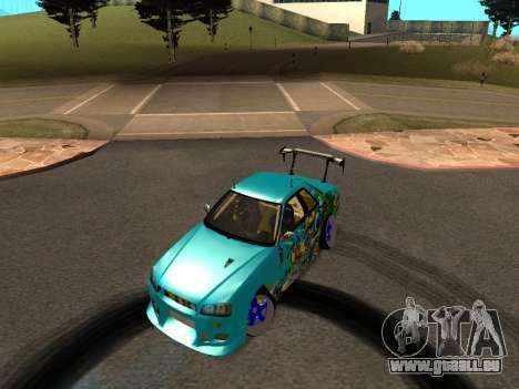 Nissan Skyline R34 EvilEmpire für GTA San Andreas