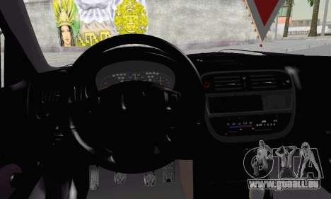 Honda Civic V Type EMR Edition für GTA San Andreas zurück linke Ansicht