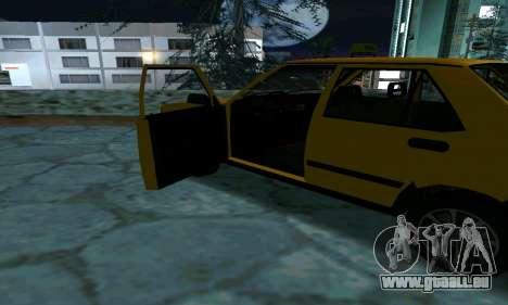 Tofas Sahin Taxi pour GTA San Andreas vue de dessus