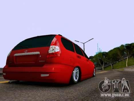 VAZ 2171 pour GTA San Andreas vue arrière