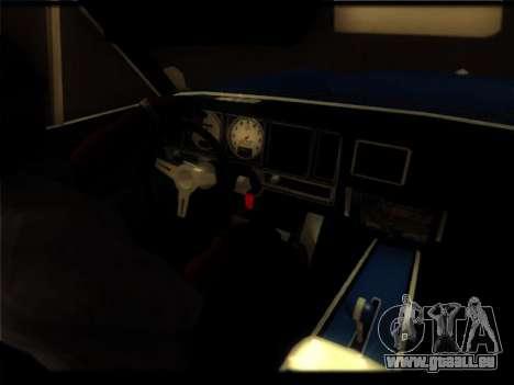 Nouveau Picador pour GTA San Andreas vue de côté