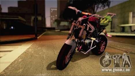 Kawasaki Ninja Zx6R v3 für GTA San Andreas