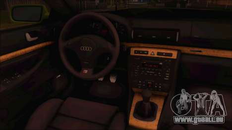 Audi S4 Fatlace pour GTA San Andreas sur la vue arrière gauche