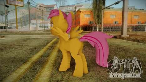 Scootaloo from My Little Pony pour GTA San Andreas deuxième écran