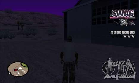 C-HUD Raum SWAG für GTA San Andreas dritten Screenshot