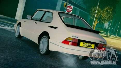 Saab 900 Coupe Turbo pour GTA 4 est une gauche