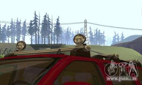 Chevrolet Tahoe Final pour GTA San Andreas vue intérieure