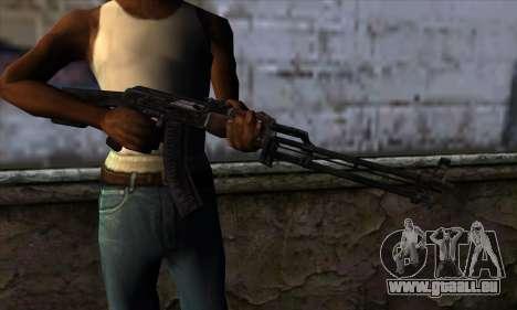 AK47 from State of Decay pour GTA San Andreas troisième écran