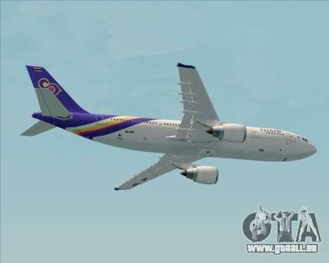 Airbus A300-600 Thai Airways International pour GTA San Andreas moteur
