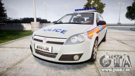 Vauxhall Astra 2010 Metropolitan Police [ELS] pour GTA 4