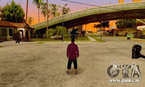 The Ballas Gang Skin Pack pour GTA San Andreas sixième écran