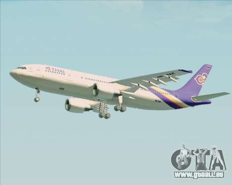 Airbus A300-600 Thai Airways International für GTA San Andreas Seitenansicht