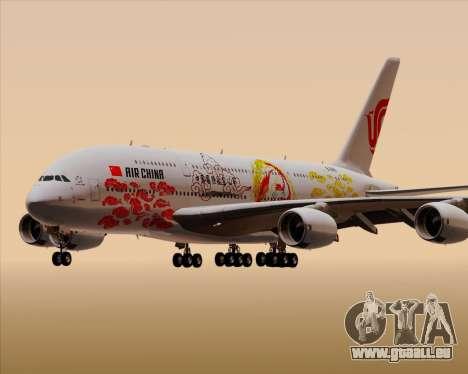Airbus A380-800 Air China für GTA San Andreas Unteransicht